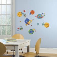 roommates rmk2618scs planets and rockets peel and stick wall roommates rmk2618scs planets and rockets peel and stick wall decals amazon com