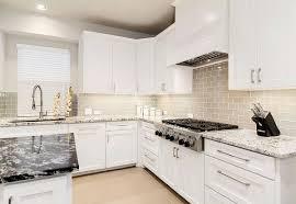 white shaker kitchen cabinets with white subway tile backsplash white shaker cabinets the trend in kitchen design