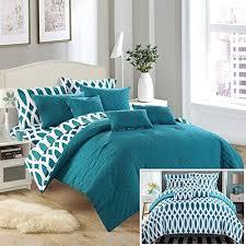 Teal Bed Set Teal Bedding Sets Amazon Com