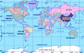 location of australia on world map china s location in the world