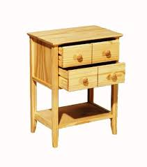 Unfinished Pine Nightstand Accent Furniture Unfinishedfurnitureexpo