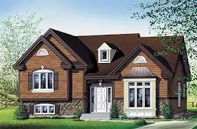 plan w80019pm attractive 3 bedroom split level e architectural