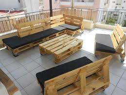Patio Pallet Furniture by Decking Ideas For Garden Patio Pallet Furniture Plans Diy Pallet