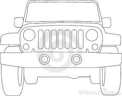 safari jeep front clipart cartoon jeep clip art royalty free stock image jeep truck outline