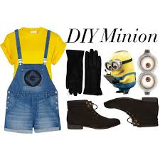Minion Halloween Costumes Girls Diy Minion Costume Halloween Diy Minion Costume