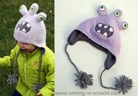 make diy monster hats a great diy gift idea