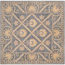 safavieh wyndham terracotta 5 ft x 5 ft square area rug wyd203a