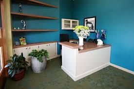Small Reception Desk Ideas by Abby Bella Dance Studio Lobby And Reception Desk Interior Design