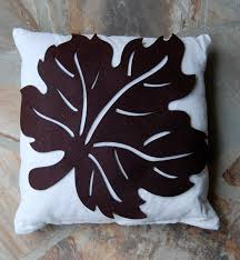 imparting grace simple fall craft autumn leaf pillow
