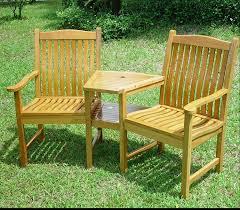 Rustic Wooden Garden Furniture Solid Oak Garden Love Seat Sale Sale Sale Amazon Co Uk