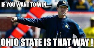 Jim Harbaugh Memes - the buckeye nut on buckeye nut buckeyes and ohio state vs michigan