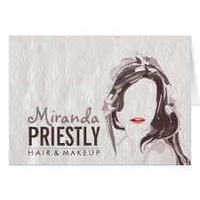 gifts for makeup artists modern makeup artist and hair stylist beauty salon card stylist