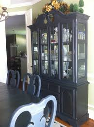 Gothic Dining Room Furniture Gothic Style China Cabinet In Annie Sloan Chalk Paint Graphite