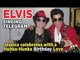 singing telegram birthday s 31st birthday with elvis singing telegram las