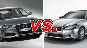 audi a6 or lexus gs 350 audi a6 vs lexus gs 350 carsdirect