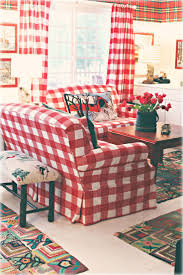 best 25 plaid couch ideas on pinterest painting fabric i would love to have these red gingham sofas in my living room