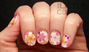 incoco nail appliques spring fling the little canvas