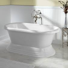 bathroom best soaking tub costco with large frameless mirror
