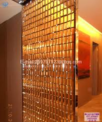 stainless steel decorative partitions banquet room partitions with