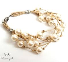 pearl necklace jewelry store images Fresh jewelry using refashioned pearls from a thrift store pearl jpg