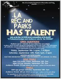 mar vista park talent show september 9 u0026 10 mar vista mom