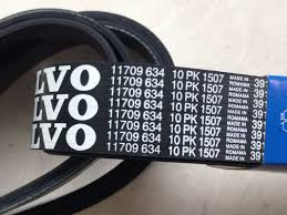 volvo heavy large diameter engine v belt volvo heavy equipment parts voe11709634