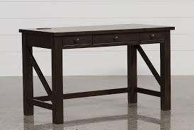 Wood Secretary Desk by Elliot Desk Living Spaces