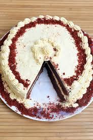 egg less red velvet cake