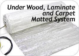 wood heating carpet heating floor heating matted