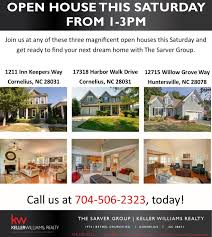 three homes three open houses for three beautiful homes the sarver