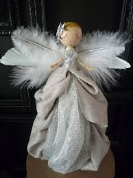 Angel Decoration For Christmas by Best 25 Angel Christmas Tree Topper Ideas On Pinterest Unique