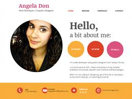 Bootstrap Resume Template Free Resume Websites Resume Template And Professional Resume