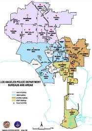 Los Angeles Map Pdf by File Lapd Bureau And Area Map Jpg The Radioreference Wiki