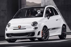 Fiat 500 Abarth White 2017 Fiat 500 Convertible Pricing For Sale Edmunds