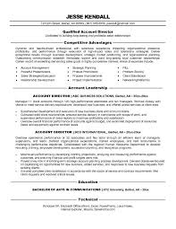 resume sles for advertising account executive description director it resume sales director lewesmr