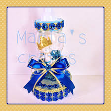 Royal Blue Baby Shower Decorations - royal blue prince baby shower centerpiece little prince cake