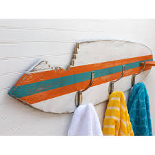 Backpack Hooks For Home by Surfboard Towel Hook Shark Bite Wooden Beach House Entryway