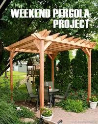 Backyard Pergola Ideas 7 Best House Ideas Images On Pinterest