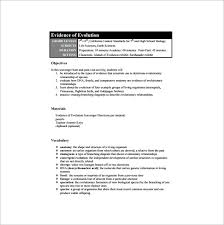 high lesson plan template u2013 9 free sample example format