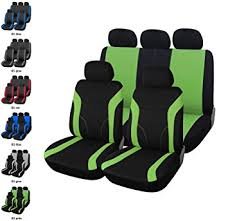 housse si e voiture universelle upgrade4cars housse de siege voiture universelle en noir vert