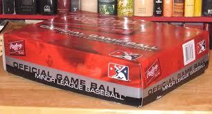 Milb Map Mib Rawlings Official Minor League Baseball Box 12 Sealed Balls