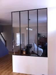 cloison vitree cuisine salon rideaux baie vitrée avec coffre luxe cloison vitre cuisine cloison