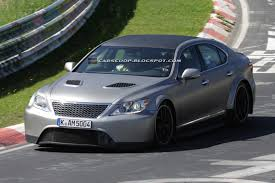 lexus gs f v10 scoop mystery sport lexus ls caught testing on the u0027ring could