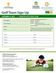Golf Tournament Sign Up Sheet Template Golf Tournament Palmdale Chamber Of Commerce