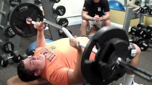 cambered olympic bar bench press youtube