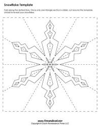 templates for snowflakes paper snowflake templates for christmas holiday crafts