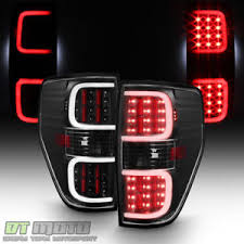 2010 ford f150 tail light cover blk 2009 2010 2011 2012 2013 2014 ford f150 dual led bar tail lights