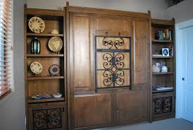 hand made southwestern murphy bed by ck valenti designs inc
