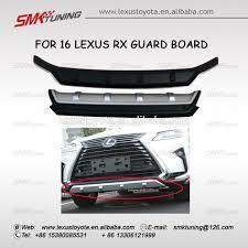 new lexus rx200t 2016 bumper guard for 2016 lexus rx 200t 450h buy high quality bumper