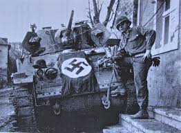 Vanguard Flag Soldier Led 10th Armored Division Tanks Into Germany War Tales